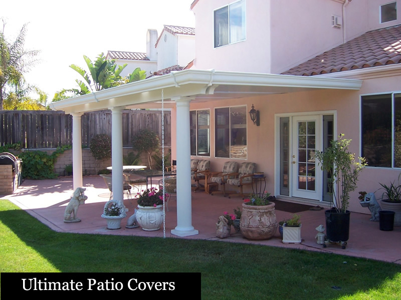 With Our Ultimate Patio Covxt For Er, It Stops The Heat Transfer And Keeps  You From Cleaning Out The Gutters.