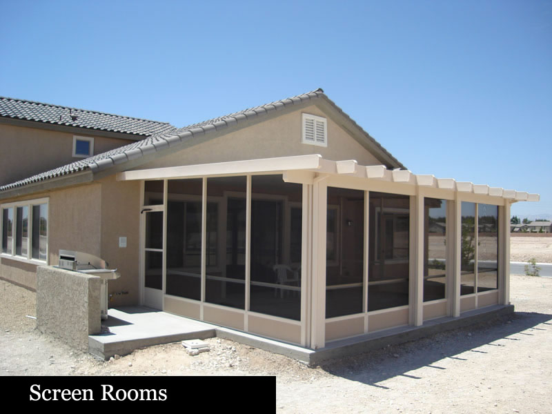 Patio Enclosures – Life Rooms – Screen Rooms – Las Vegas Patio Covers