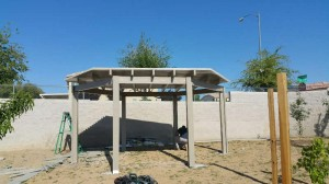 Fertitta Shade Structure