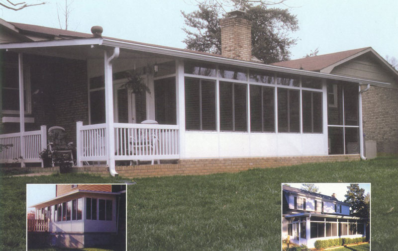 Manufactured housing las vegas patio covers for Modular screen porch